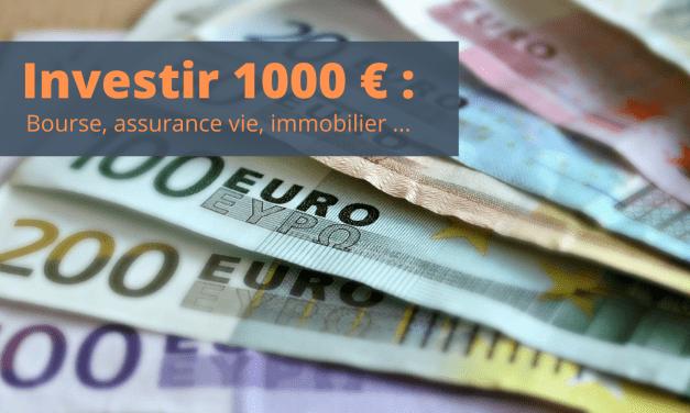 Investir 1000 euros – Commencer à investir