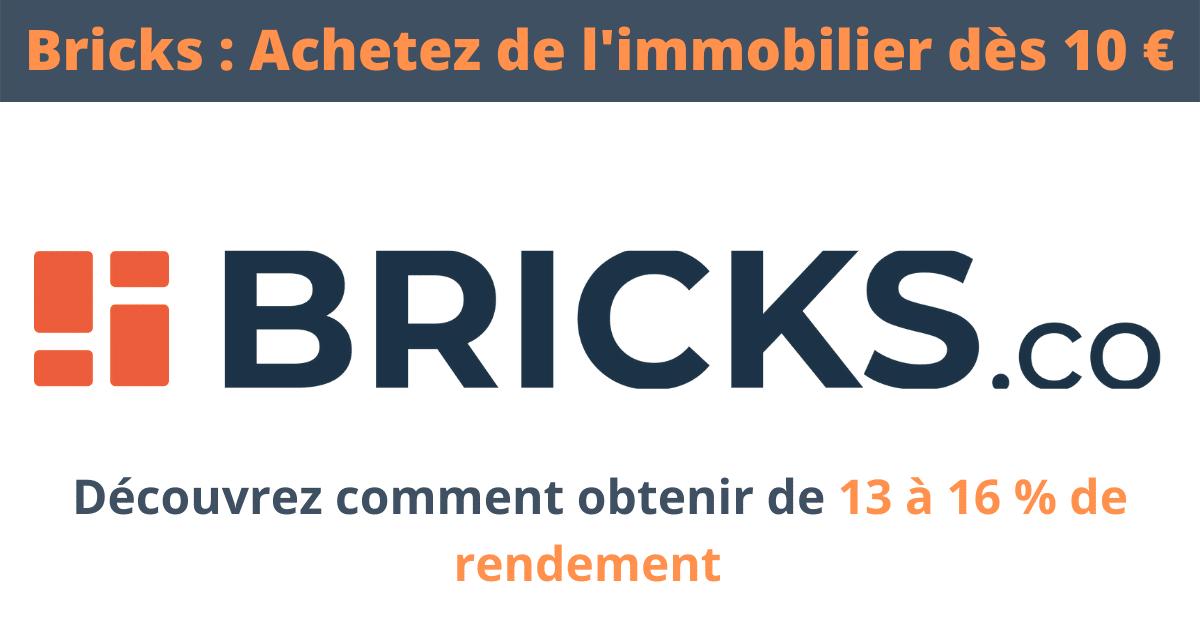 Mon Avis sur Bricks : l'immobilier dès 10 euros ? (AOUT 2021)