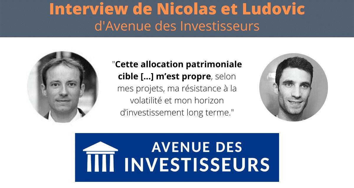Interview Nicolas et Ludovic d'Avenue des Investisseurs – Parole d'investisseur #1