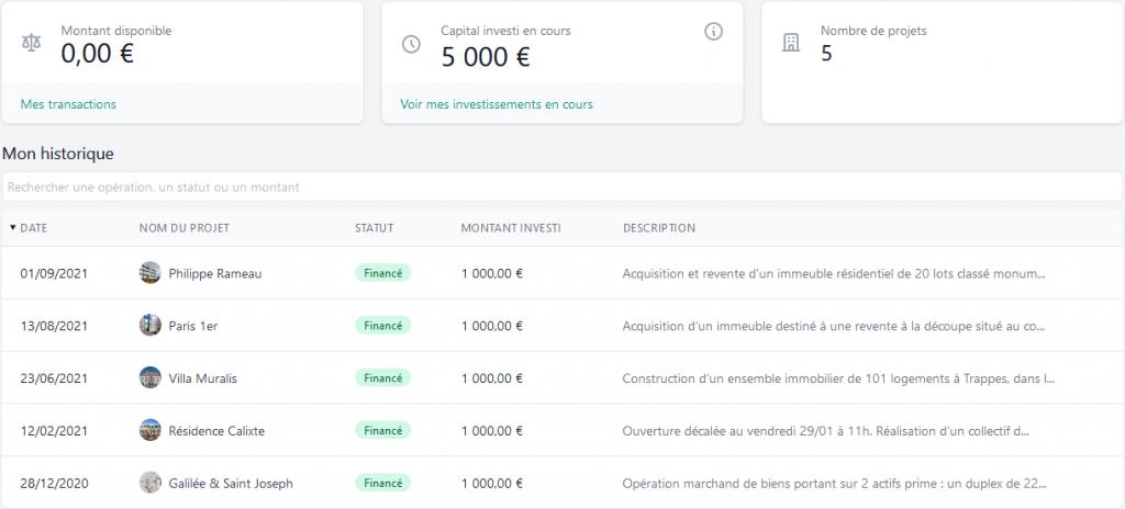FundImmo - Crowdfunding Septembre 2021
